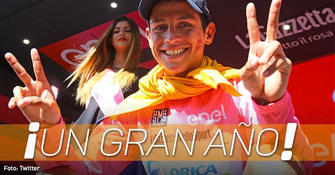 Esteban Chaves renueva contrato con Orica en un 2016 de ensueño