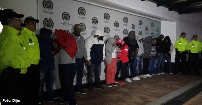 Capturados 27 extraditables durante operación en Colombia, Ecuador y EE.UU.