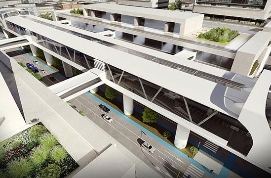 Bogotá recibe los patios del metro