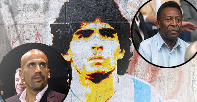 Cinco jugadores que le han cantado la tabla a Diego Maradona