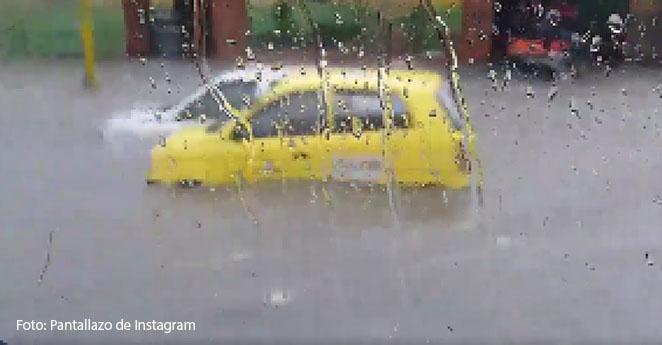 Chapinero y Galerías amanecieron sin luz por fuertes lluvias en Bogotá