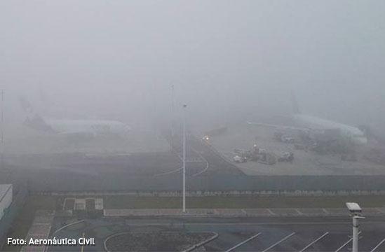 ¿Por qué cierran El Dorado cada vez que hay neblina?