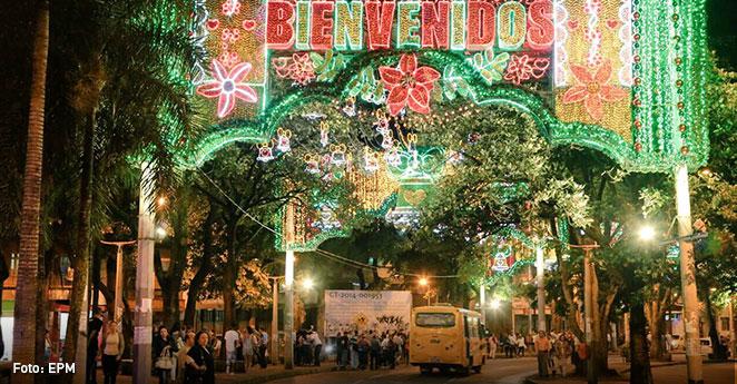 Alumbrado navideño en Medellín se aplaza por tragedia de Chapecoense