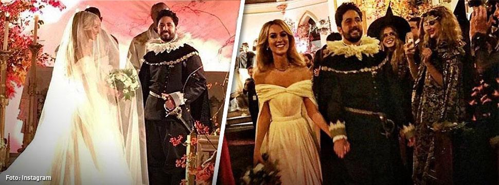 La excéntrica boda de disfraces de Julio Mario Santo Domingo III