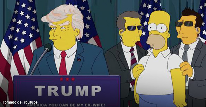 La de Trump y otras predicciones de Los Simpsons