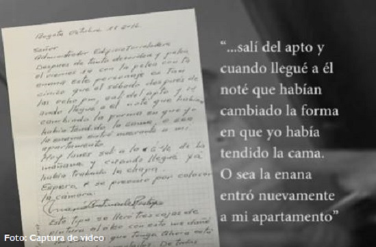 Captura carta la cabrera