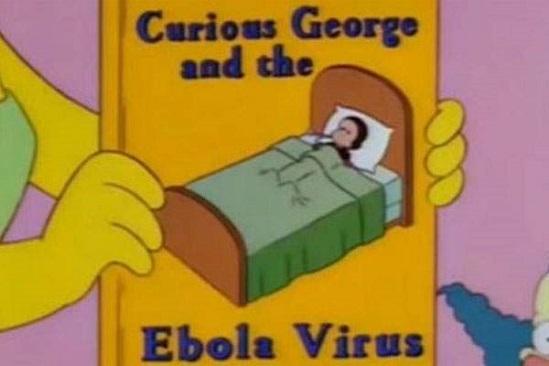 Ebola-en-los-Simpson