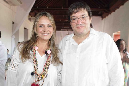 Adriana bernal y Jaime Abello