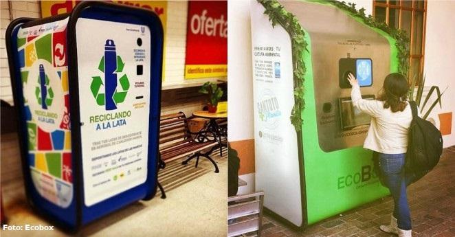 Así funcionan las máquinas que le pagan por reciclar