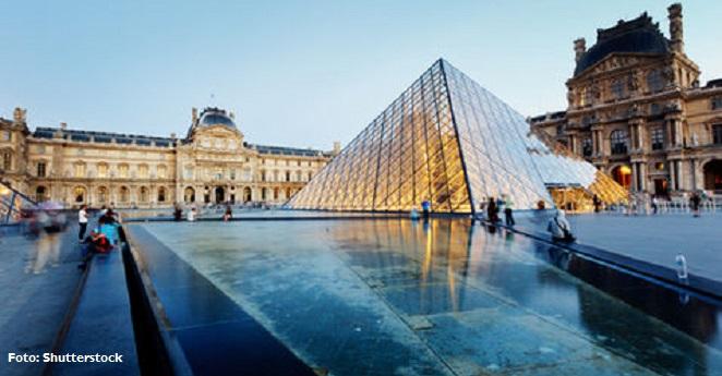 (Video) Policía de Francia investiga ataque cerca del Museo del Louvre