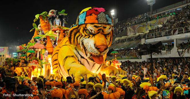 Accidente en el Carnaval de Río deja 12 heridos