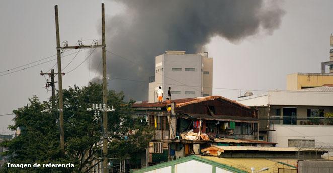 Más de 100 heridos por incendio en fábrica del norte de Filipinas