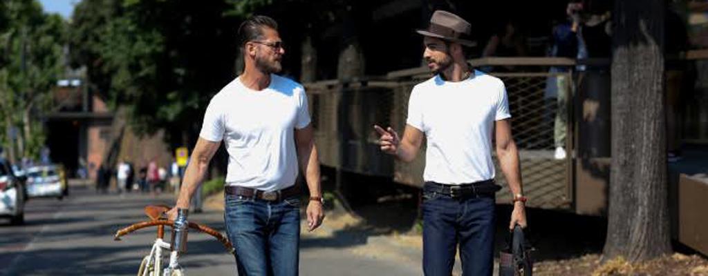 Hombre estilo, moda, camisa, cool