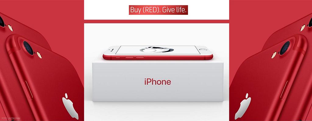 Apple lanza al mercado un iPhone rojo
