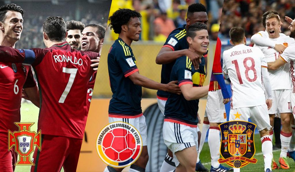 Colombia no jugaría partido amistoso contra Portugal