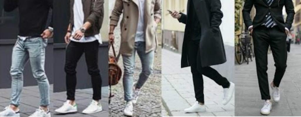 Tenis blanco moda
