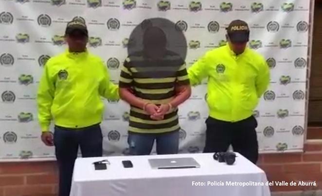 Dos extranjeros capturados por abuso y explotación sexual infantil en Medellín