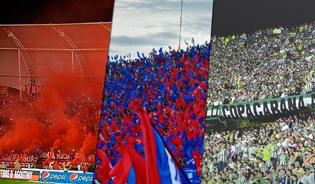 Estos son los equipos más taquilleros en el fútbol colombiano