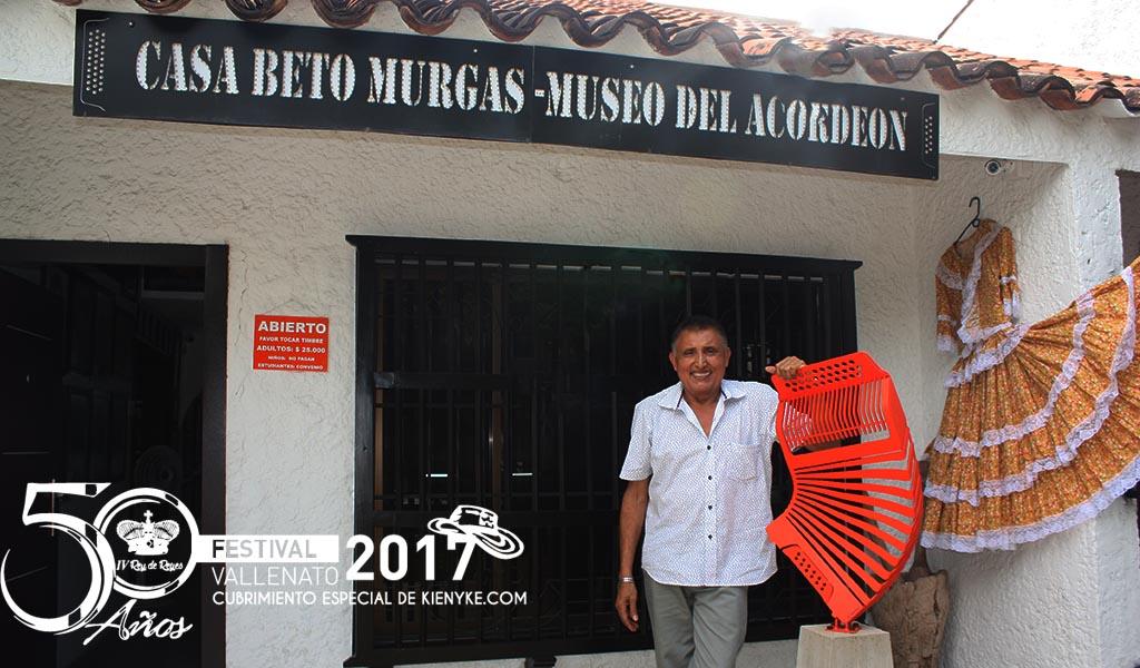 Beto Murgas acordeon casa del museo