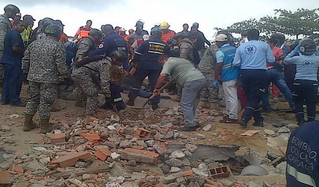 Recompensa por investigados por desplome de edificio en Cartagena