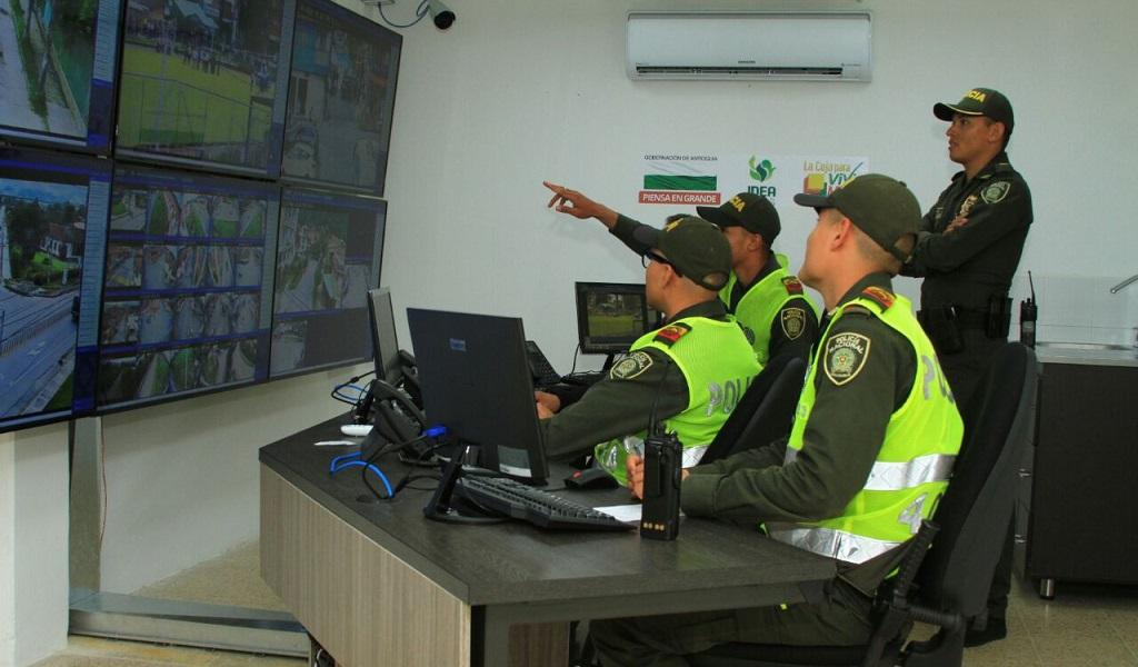 Se multiplicaron los ojos de la Policía en La Ceja