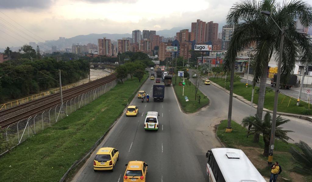 Día sin carro sin contratiempos en Medellín