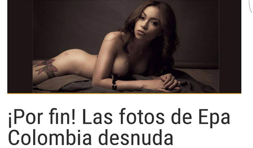 """Epa Colombia, de """"guisa"""" a modelo de SoHo"""