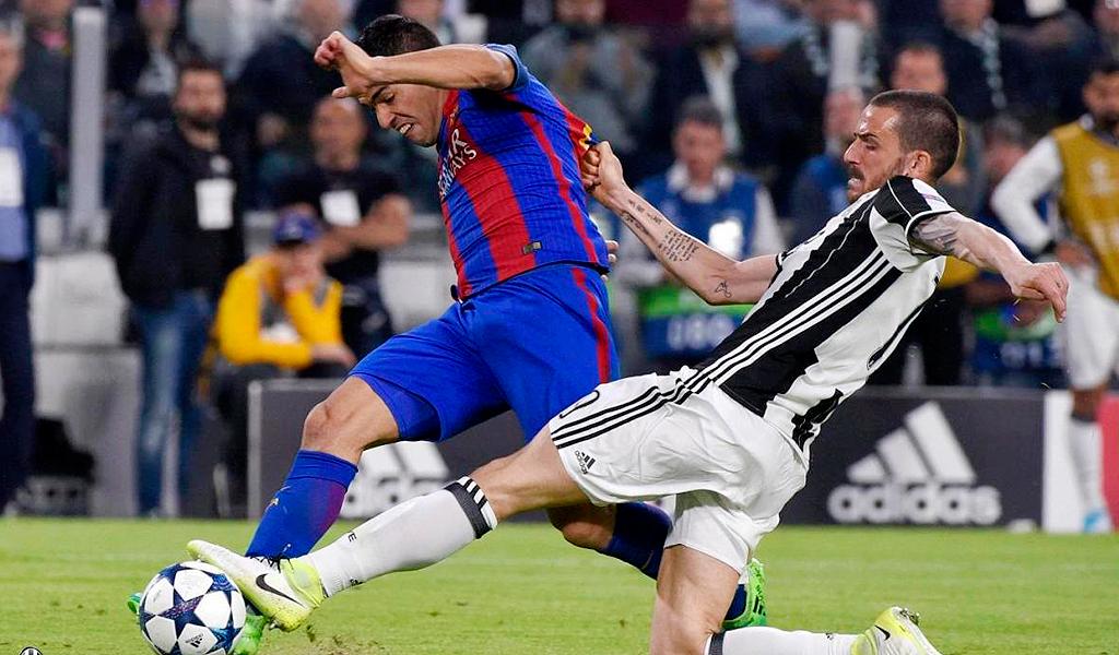 Juventus clasificó a semifinales en el Camp Nou