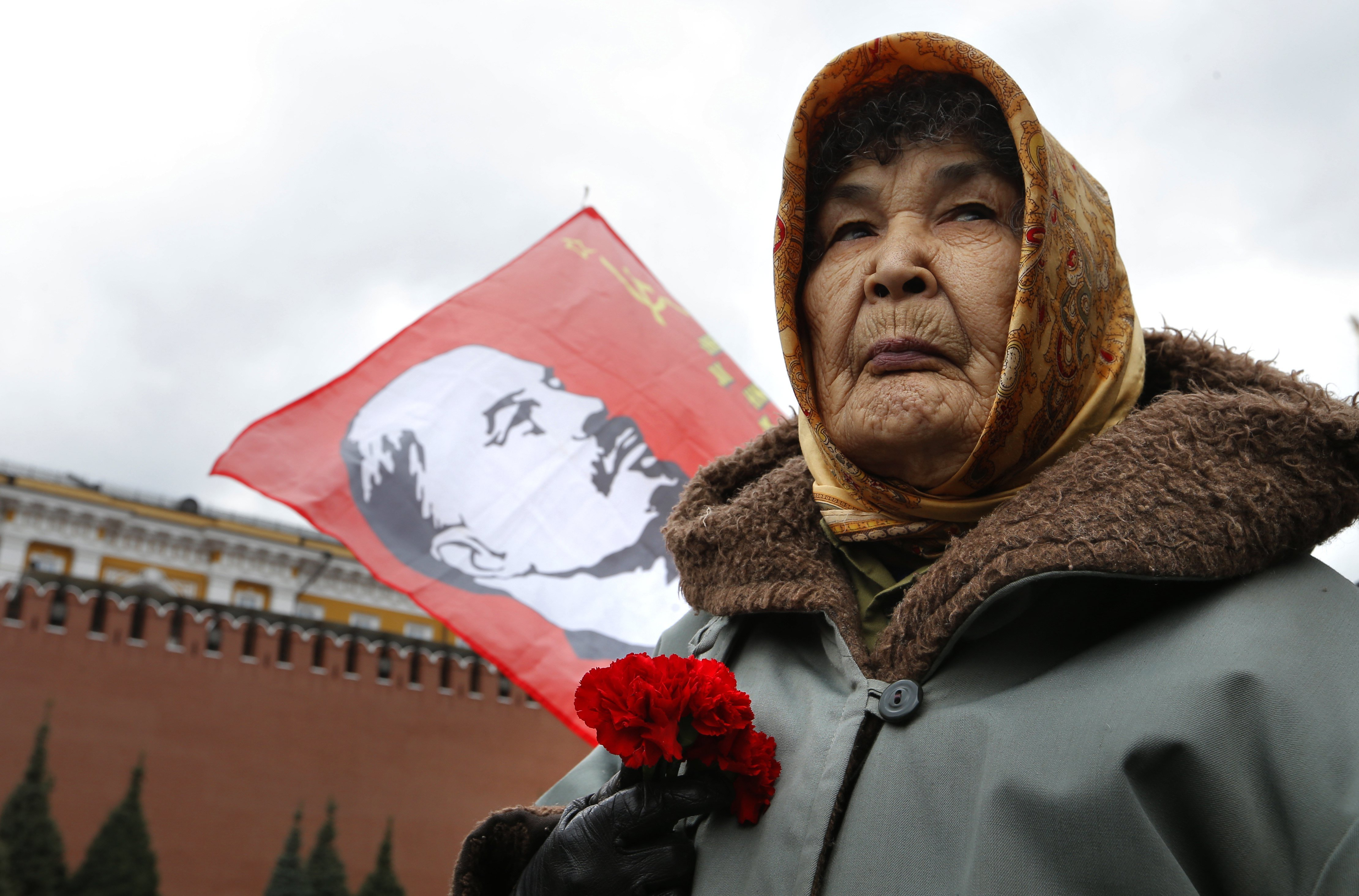 """Lenin, """"la momia de un Dios sobre la tierra"""""""