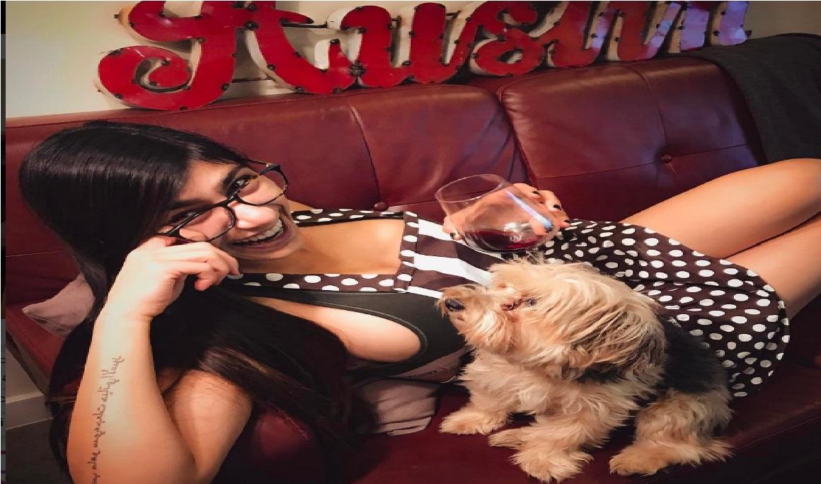 La pesada broma de la actriz porno Mia Khalifa
