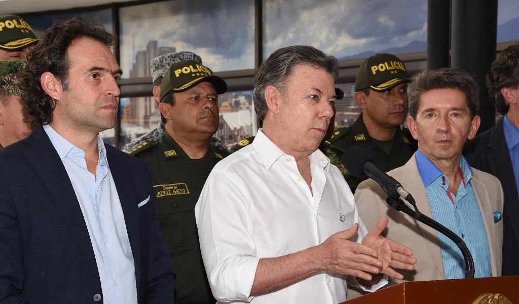 Bajó la tasa de homicidios en Medellín