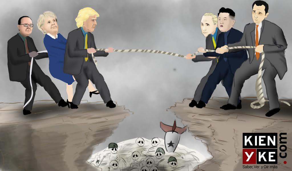 """""""Guerra nuclear puede comenzar en cualquier momento"""""""