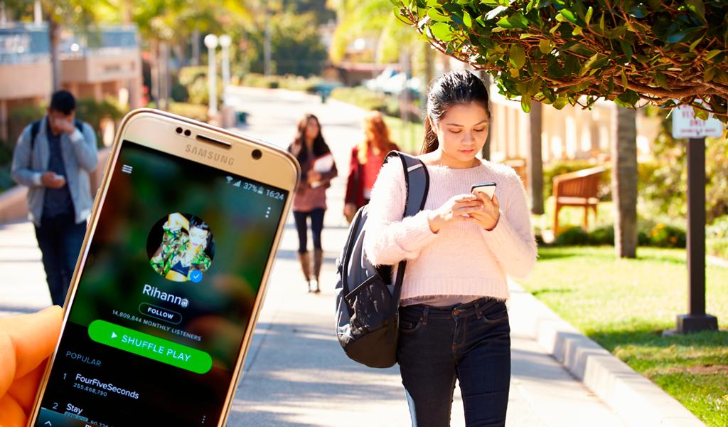 Universitarios tendrán descuento especial en Spotify
