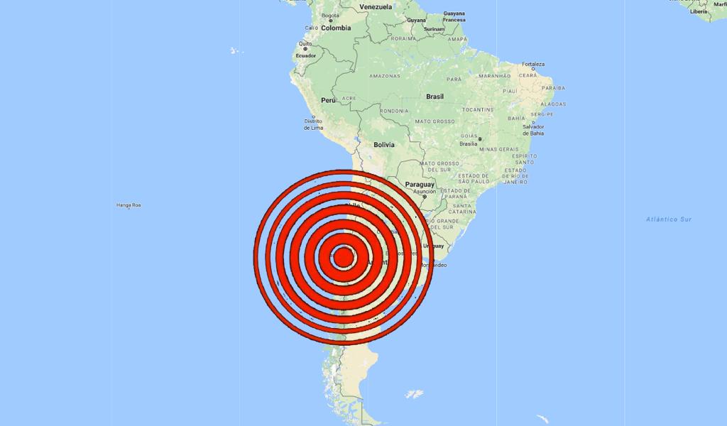 Un fuerte sismo sacudió el centro de Chile