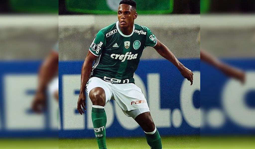 La efectividad de Yerry Mina en Copa Libertadores
