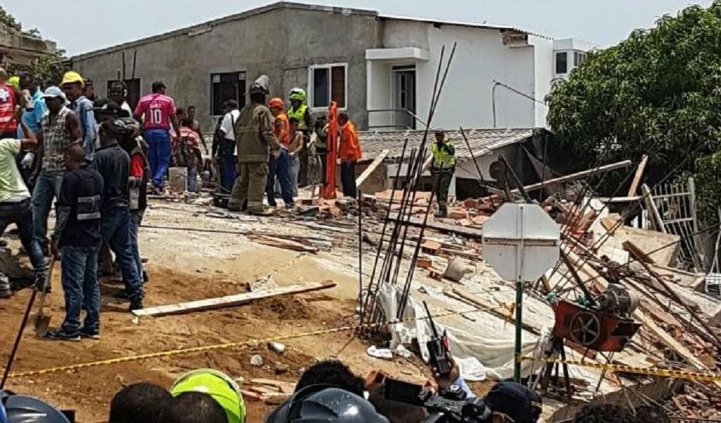 Se desploma un edificio en Cartagena