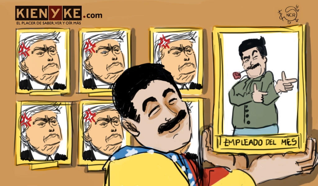 El mes de Nicolás Maduro