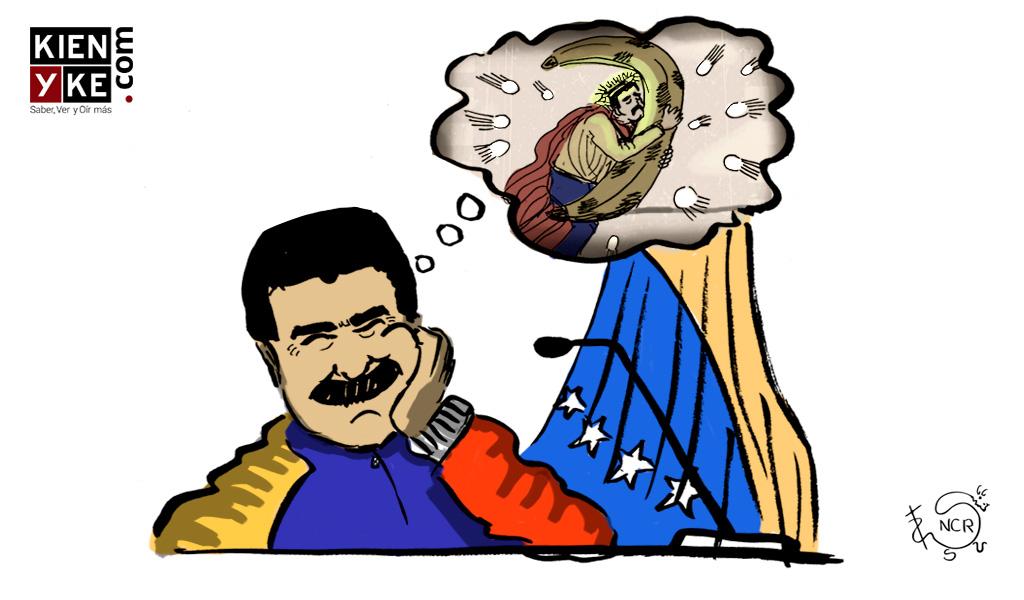 Maduro: Colombia firmó la paz gracias a mí