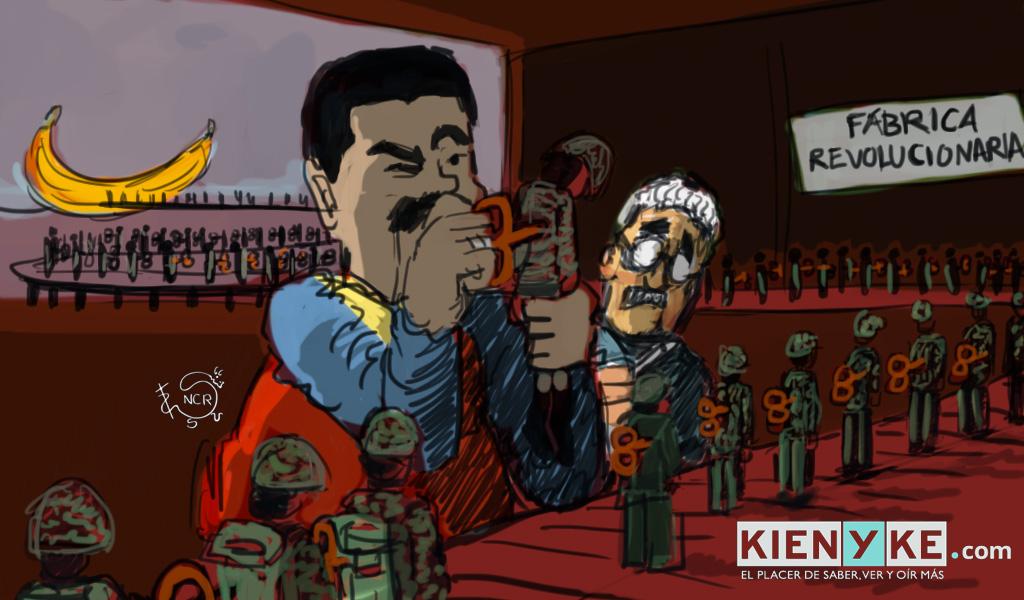 Militares: ¿la piedra en el zapato de Maduro?