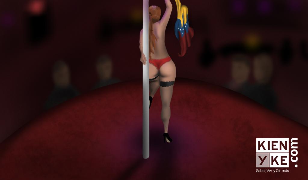 En Bogotá, una prostituta venezolana llora a su país
