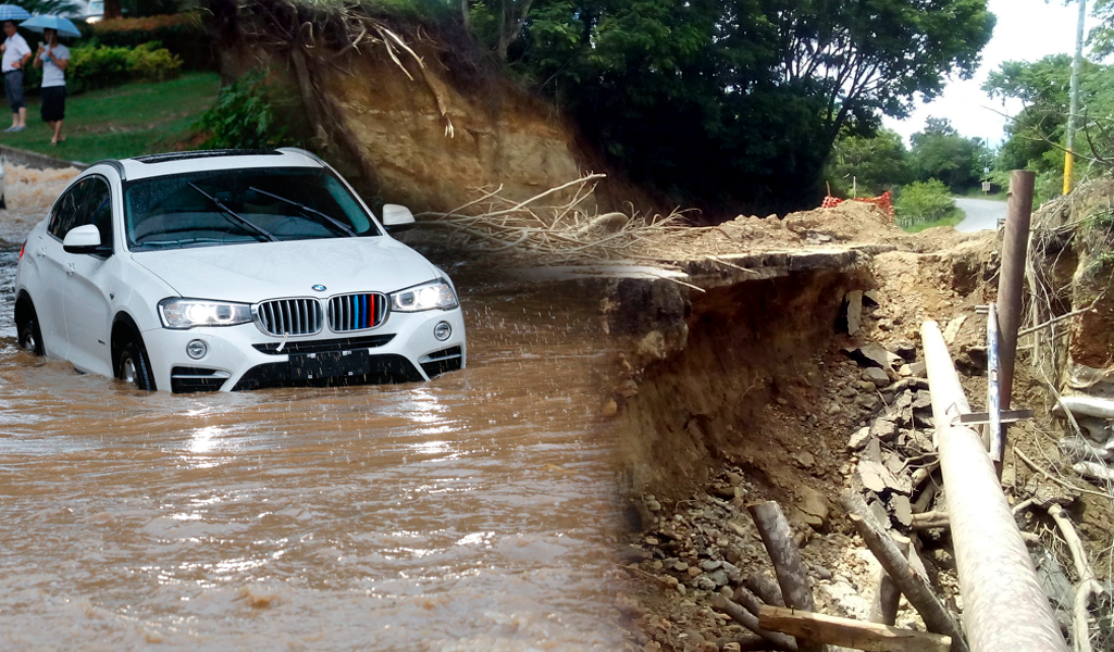 22.830 mil familias damnificadas por las lluvias en Colombia