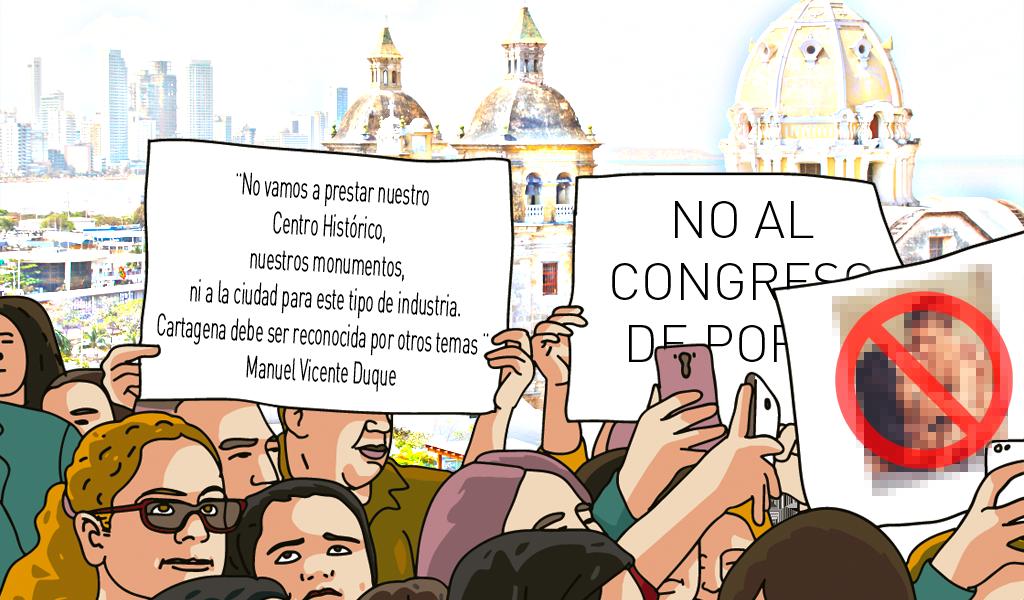El congreso del porno que enfadó a cristianos en Cartagena