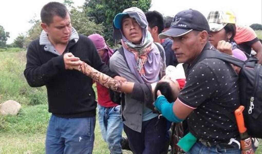 Una persona muerta y tres heridas durante minga en el Cauca