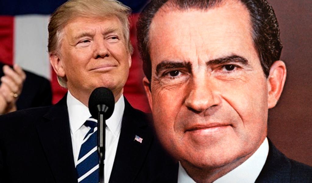 Trump y el mismo error que sacó a Nixon de la presidencia