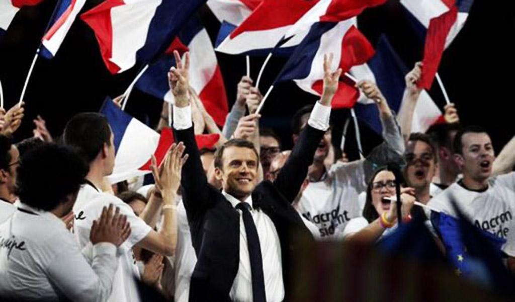 Las tres vueltas de Macron, el nuevo Presidente francés
