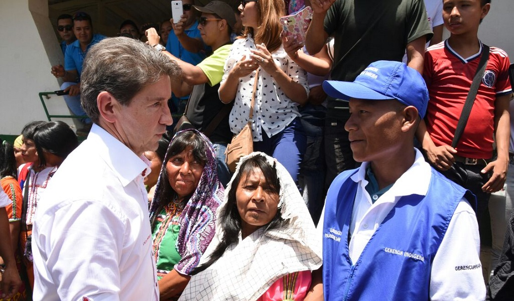Antioquia becará a 40 indígenas para que estudien pregrado