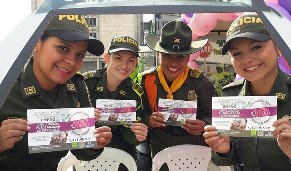 Línea 155 para orientar a mujeres víctimas de violencia