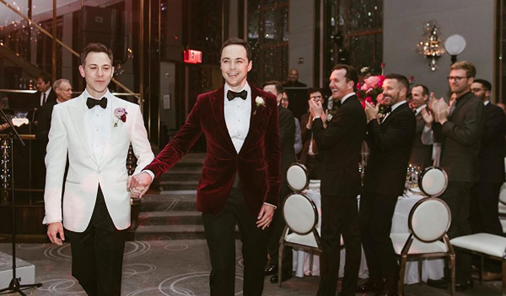Protagonista de 'The Big Bang Theory', se casó con su novio