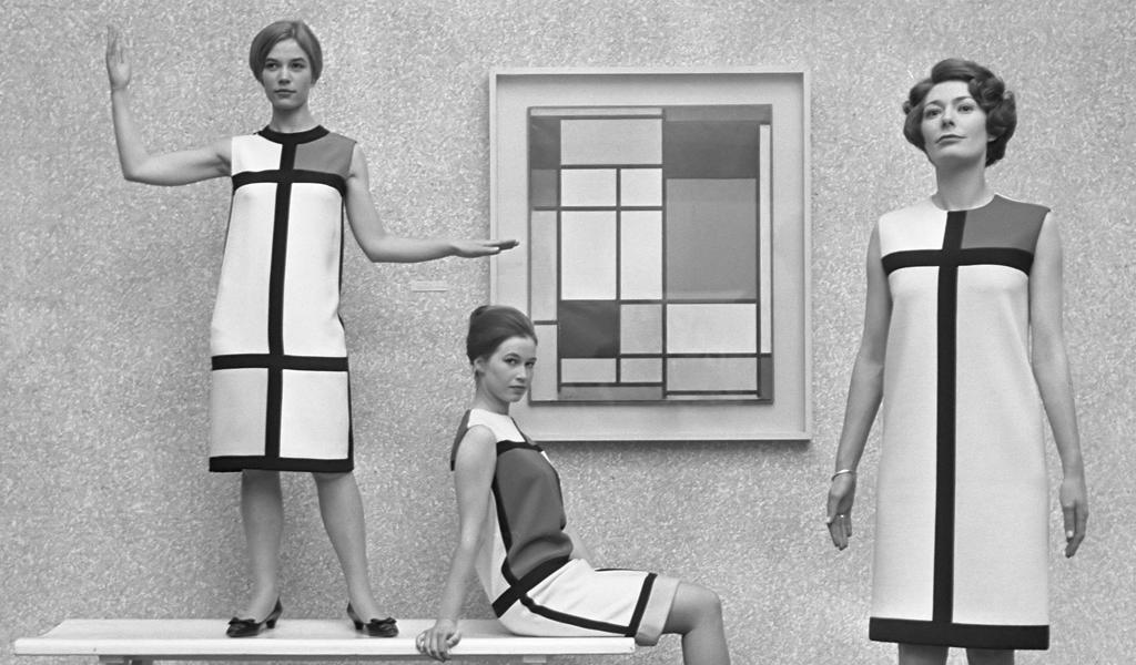 El primer amor de la moda y la pintura: Yves Saint Laurent