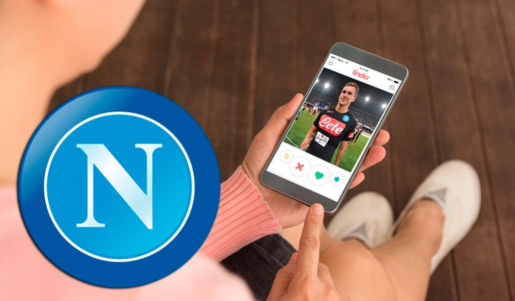 El Nápoles ofrece una cita por Tinder con uno de sus jugadores